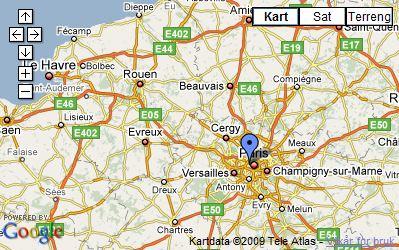 eiffeltårnet kart Panoramaer eiffeltårnet kart